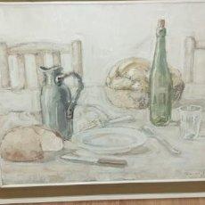 Arte: PINTURA DEL PINTOR FRANCES VICTOR MANVER BODEGON . Lote 166090970