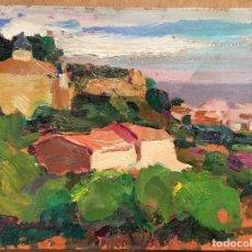 Arte: PAISAJE POR PASCUAL BUENO FERRER (BARCELONA 1930). Lote 166098308