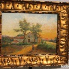 Arte: PAISAJE DE J. RODRIGUEZ SALGADO 1919,. Lote 166108106