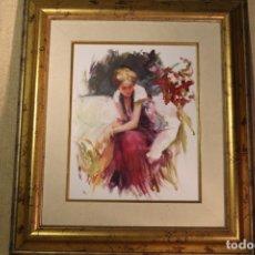 Arte: OLEO SOBRE CARTON PROHENS. Lote 166126470