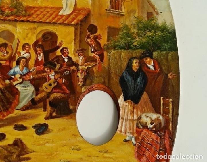 Arte: OLEO SOBRE TABLA, PALETA PINTOR - Foto 6 - 166152846