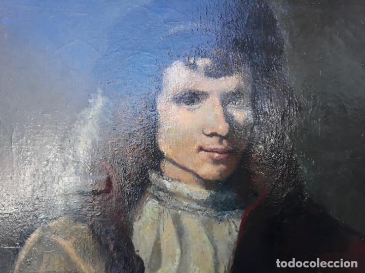 Arte: pintura de copia de rembrandt - Foto 2 - 166176262