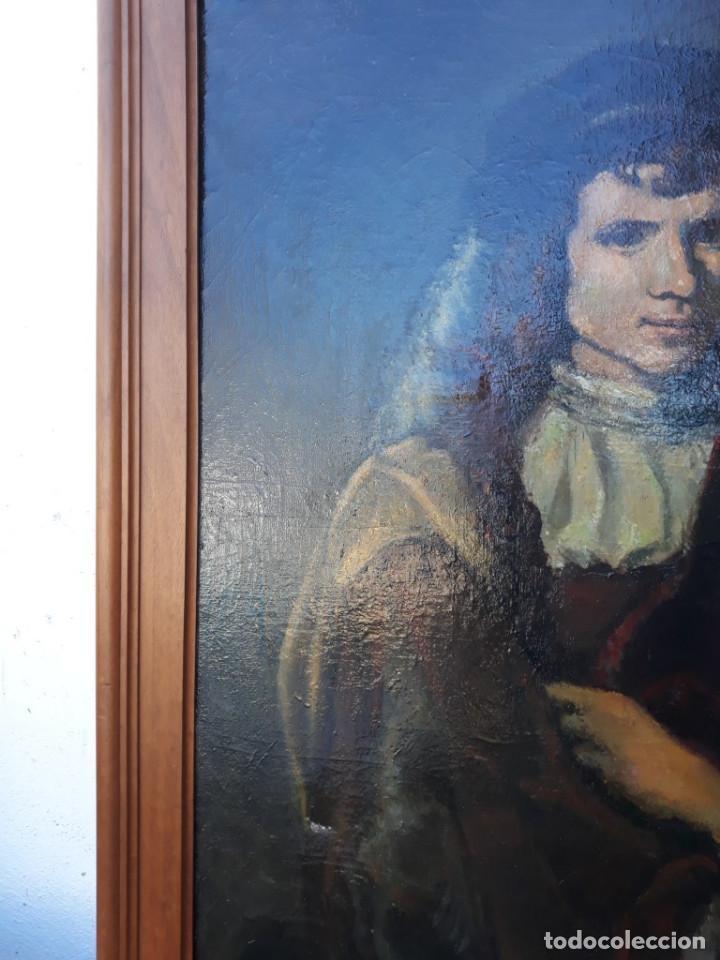 Arte: pintura de copia de rembrandt - Foto 4 - 166176262