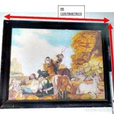Arte: LA SIEGA DE GOYA REPRODUCCIÓN POR JJ SANTOS RIVAS. 1993. Lote 166303774