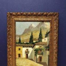 Arte: FERNANDO MARTÍNEZ CHECA (REQUENA, VALENCIA, 1858 - BAEZA, JAÉN 1933) - SIERRA DE CAZORLA, ANDALUCÍA.. Lote 166426058