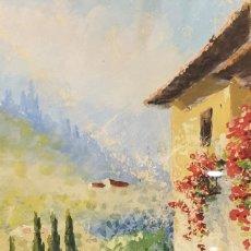 Arte: FERNANDO MARTÍNEZ CHECA (REQUENA, VALENCIA, 1858 - BAEZA, JAÉN 1933) - CAZORLA, ANDALUCÍA. ACUARELA.. Lote 166507034