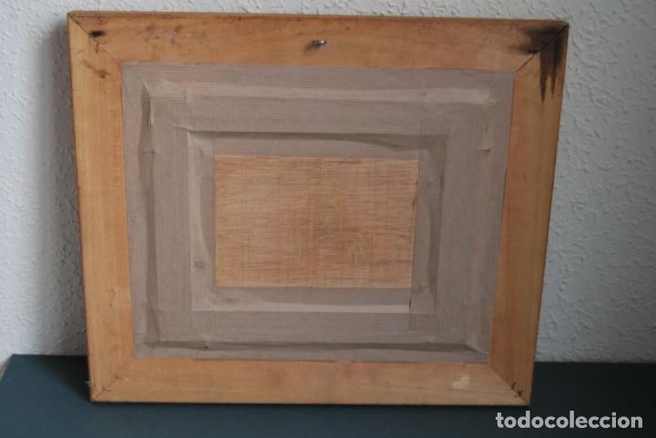 Arte: ANTONIO CAMPOS - ÓLEO SOBRE TABLA - FLORES - SANTANDER - Foto 9 - 166596018