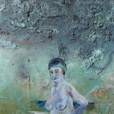 Arte: PINTURA ORIGINAL (DIRECTAMENTE DEL ARTISTA).. Lote 166616482
