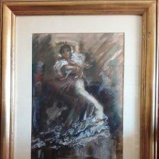 Arte: CUADRO ILUSTRACION ORIGINAL - PERE CLAPERA I ARGELAGUER (1906-1984) - 58X70 CMTS. Lote 166729906