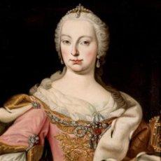 Arte: ESCUELA AUSTRIACA. RETRATO DE MARIA TERESA DE AUSTRIA. SIGLO XVIII. OLEO SOBRE LIENZO. Lote 166767874