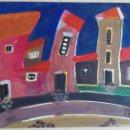 Arte: ANTONI MARTÍ (COLÒNIA GUIXARÓ, 1960) - ACRÍLICO SOBRE TÁBLEX - 80 X 60 - CERTIFICADO. Lote 166818246