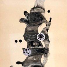 Arte: JORDI MIR - TÉCNICA MIXTA SOBRE PAPEL -. Lote 166825906