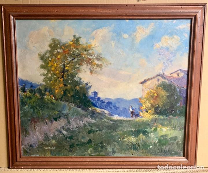 Arte: Alfons Gubern campreciós (1916-1980) 72x59 cm obra, Castellar del Valles - Foto 2 - 166840902