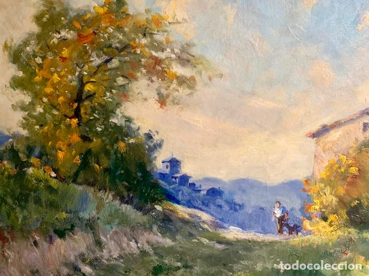 Arte: Alfons Gubern campreciós (1916-1980) 72x59 cm obra, Castellar del Valles - Foto 4 - 166840902