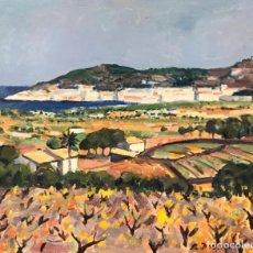 Arte: RAFAEL DURAN BENET (1931-2015) - MARINA COSTA CATALANA - ÓLEO. Lote 166887636