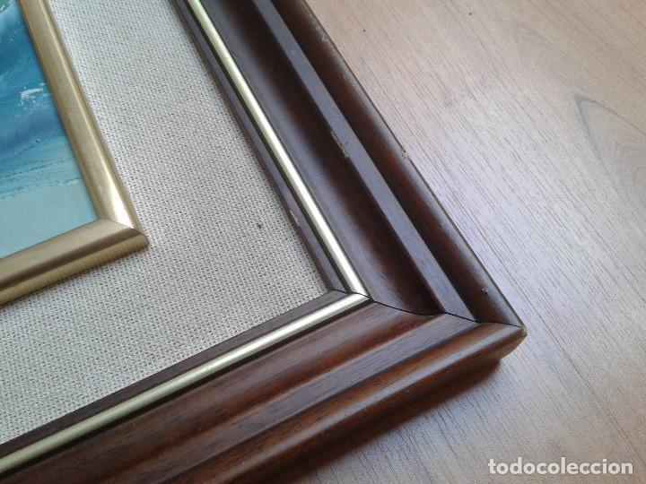 Arte: Oleo sobre tabla -- Cuadro -- Aguas bravas -- Mar -- Océano -- Harry - Foto 4 - 166922616