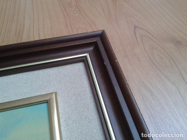 Arte: Oleo sobre tabla -- Cuadro -- Aguas bravas -- Mar -- Océano -- Harry - Foto 5 - 166922616