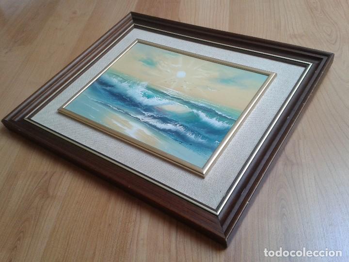 Arte: Oleo sobre tabla -- Cuadro -- Aguas bravas -- Mar -- Océano -- Harry - Foto 8 - 166922616