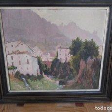 Arte - ÓLEO DE E. INGRAIN, PAISAJE - 166922948