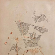 Arte: JOAN VILACASAS -TÉCNICA MIXTA SOBRE PAPEL -. Lote 167003268