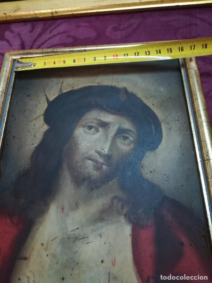 Arte: CRISTO óleo s/cobre Siglo XVII - Foto 5 - 66318866