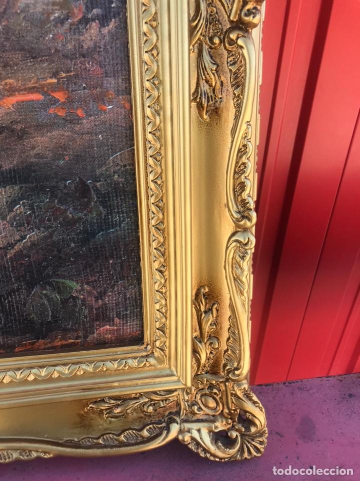 Arte: Cuadro pesquero pan de oro óleo 1,41x75 - Foto 6 - 167504377