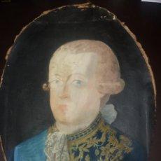 Arte: RETRATO DE SR. DON VICENTE MARÍA PALAFOX MARQUÉS DE ARIZA..62,5 CM X 42,5 CM.. Lote 167598596