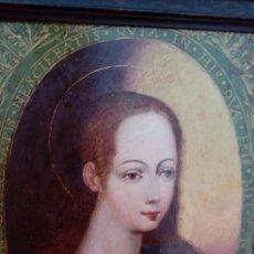 Arte: ÓLEO S/COBRE -NIÑO JESÚS HALLADO EN EL TEMPLO-, ENMARCADO DE ÉPOCA. ESC ITALIANA S. XVII.36,5X29 CMS. Lote 167622860