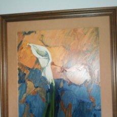 Arte: OLEO SOBRE TABLA DE LA ARTISTA PALOMA A.DE LARA. Lote 167677961