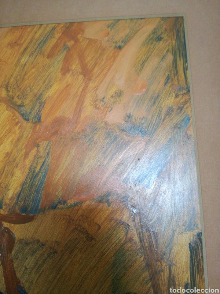 Arte: OLEO SOBRE TABLA DE LA ARTISTA PALOMA A.DE LARA - Foto 5 - 167677961