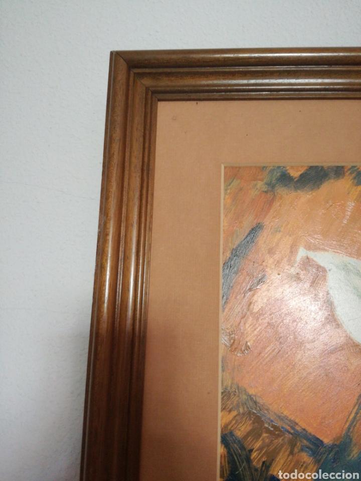 Arte: OLEO SOBRE TABLA DE LA ARTISTA PALOMA A.DE LARA - Foto 6 - 167677961