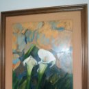 Arte: OLEO SOBRE TABLA DE LA ARTISTA PALOMA A. DE LARA. Lote 167678825