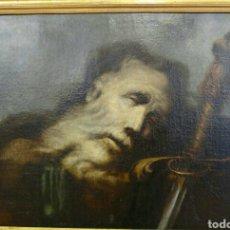 Arte: HERRERA EL VIEJO, FRANCISCO (SEVILLA 1576- MADRID 1656): CABEZA DE SAN PABLO. Lote 167720678