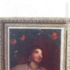 Arte: PINTURA OLEO SOBRE LIENZO,CIRCULO VICENTE LOPEZ PORTAÑA 1770-1850,VALENCIANA ,PRIMERA MITAD DEL XIX. Lote 167729912