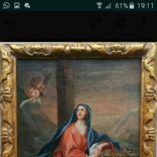 Arte: VIRGEN AL PIE DE LA CRUZ. Lote 167731728