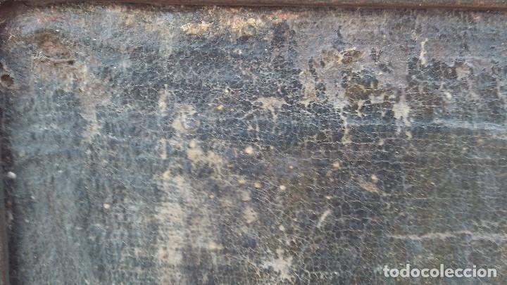 Arte: pintura al oleo colonial siglo xviii,de epoca,oleo sobre lienzo,monja ,santa - Foto 5 - 167733568