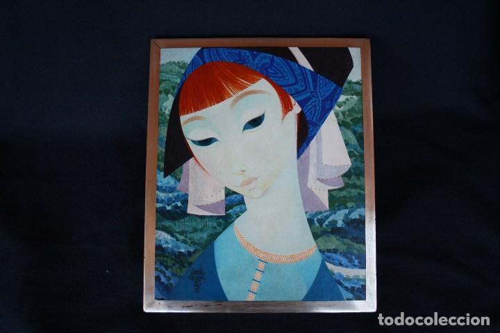 JORDI ALUMÀ I MASVIDAL (BARCELONA, 26 DE FEBRER DE 1924) - PINTURA TEMPERA SOBRE TABLA . (Arte - Pintura - Pintura al Óleo Contemporánea )
