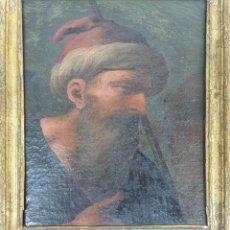Arte: RETRATO DE HOMBRE. ÓLEO SOBRE LIENZO. SIN FIRMAR. SIGLO XVIII-XIX.. Lote 167779932