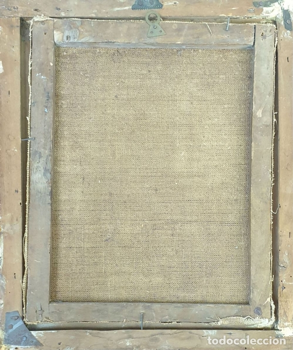 Arte: RETRATO DE HOMBRE. ÓLEO SOBRE LIENZO. SIN FIRMAR. SIGLO XVIII-XIX. - Foto 2 - 167779932