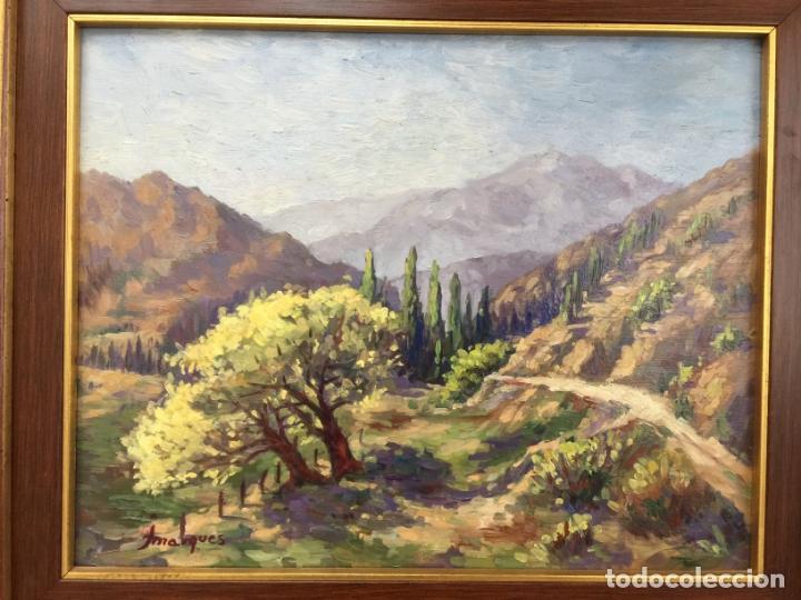 Arte: ÓLEO SOBRE TABLA , FIRMADO A IDENTIFICAR , PAISAJE - Foto 2 - 167943520