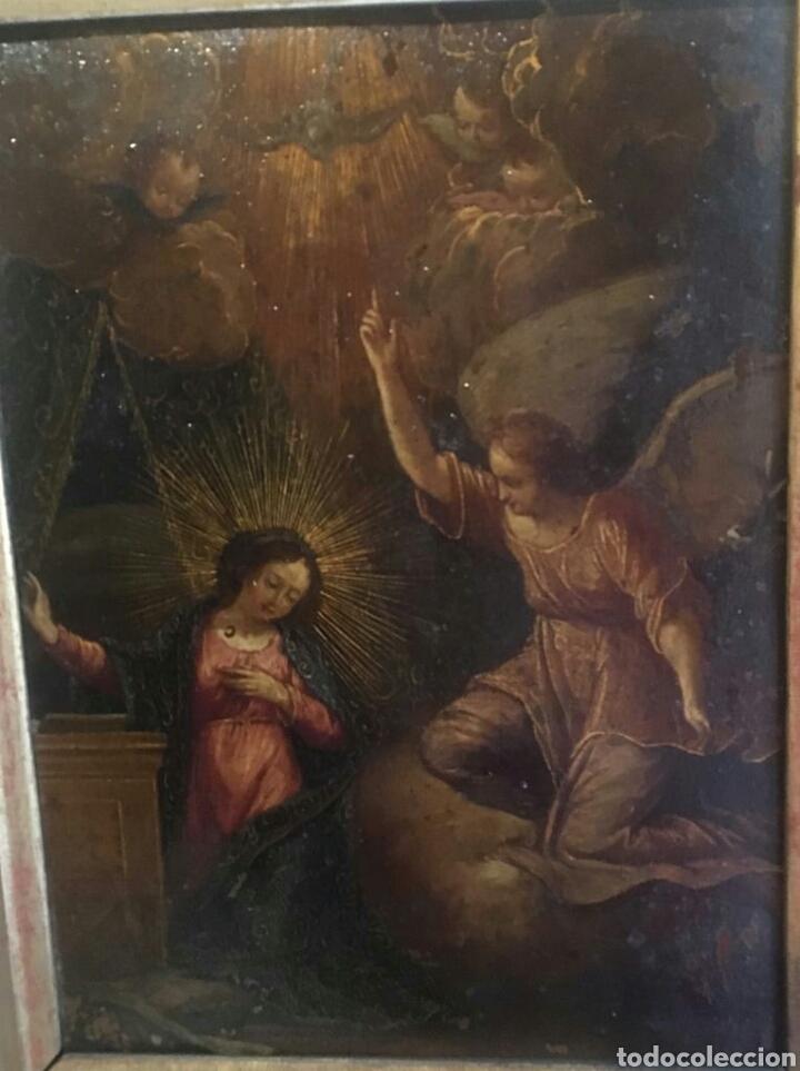 Arte: ESCUELA ITALIANA SIGLO XVII: ANUNCIACION - Foto 2 - 167990828