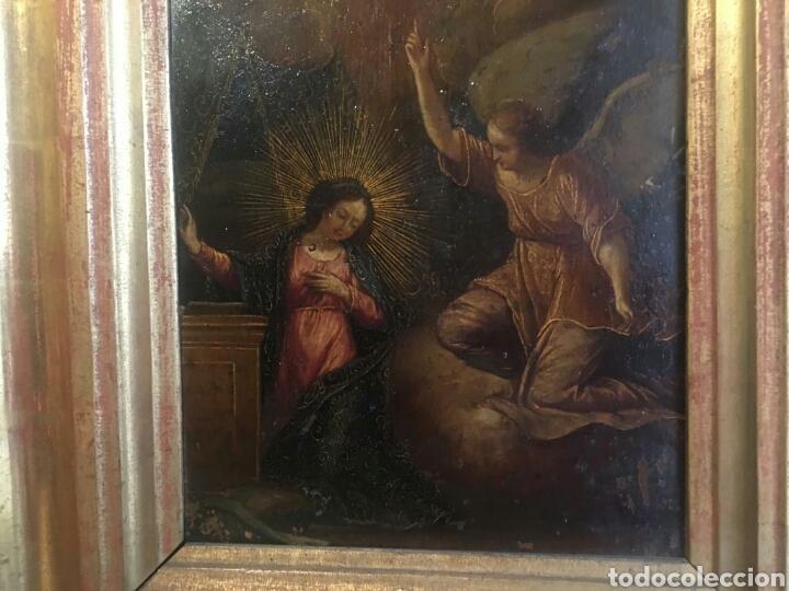 Arte: ESCUELA ITALIANA SIGLO XVII: ANUNCIACION - Foto 5 - 167990828