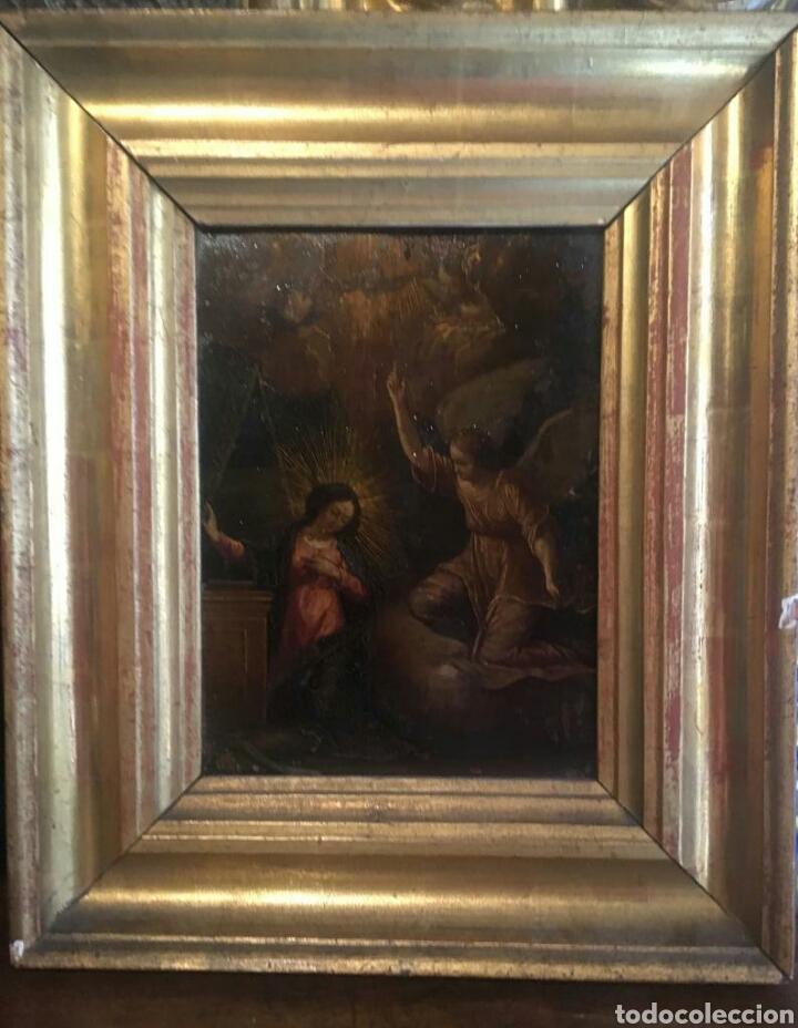 Arte: ESCUELA ITALIANA SIGLO XVII: ANUNCIACION - Foto 7 - 167990828