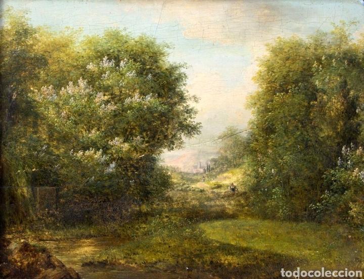 ESCUELA FRANCESA, S.XIX (Arte - Pintura - Pintura al Óleo Moderna siglo XIX)