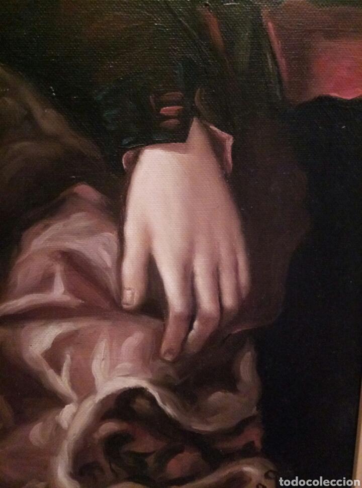 Arte: Impresionante obra de Jimenez Rico, óleo sobre lienzo - Foto 2 - 168001892
