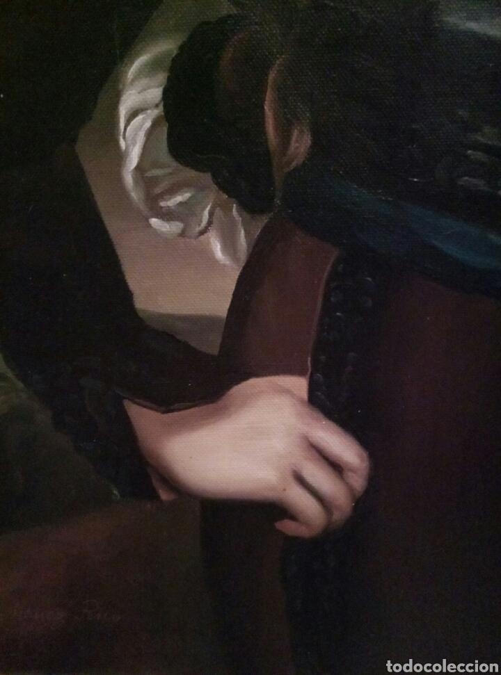 Arte: Impresionante obra de Jimenez Rico, óleo sobre lienzo - Foto 3 - 168001892