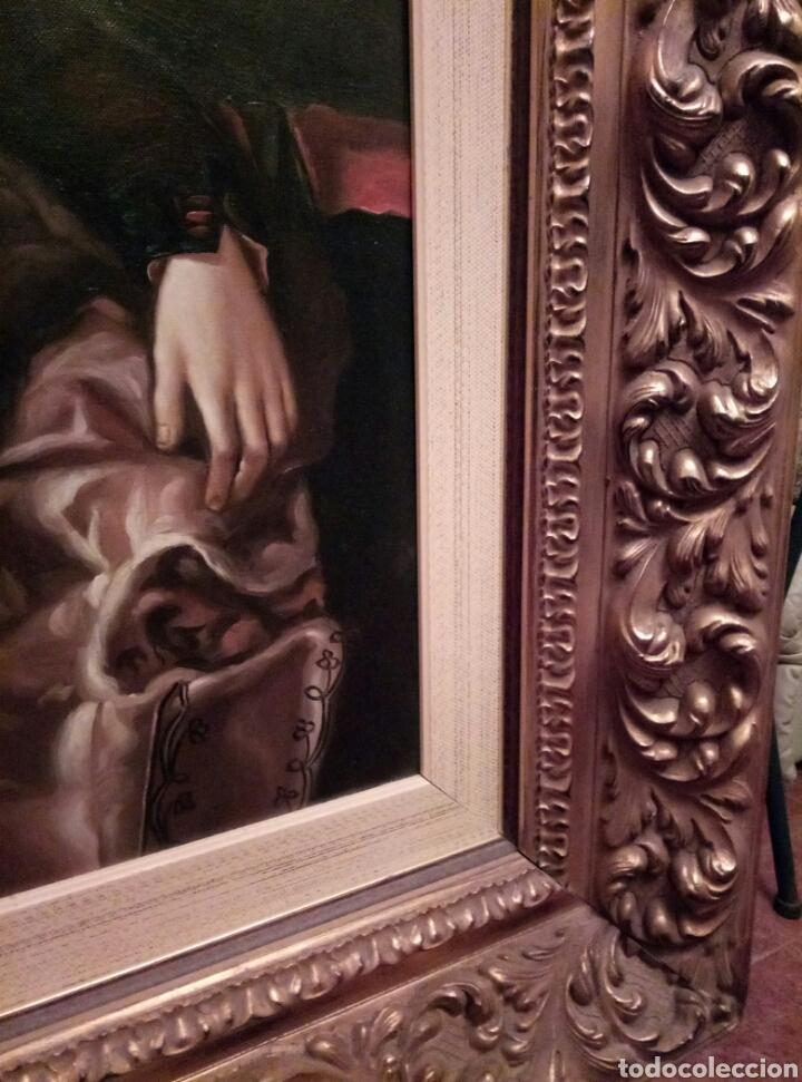 Arte: Impresionante obra de Jimenez Rico, óleo sobre lienzo - Foto 7 - 168001892