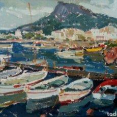 Arte: ROCA RICART, RAIMON. MARINA DEL ESTARTIT.. Lote 168009526