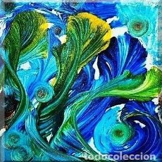 Arte: TÉCNICA MIXTA SOBRE LIENZO (CICLOGÉNESIS). Lote 168040720