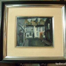Arte: OLEO SOBRE TABLA DE VIVES FIERRO. Lote 168043776
